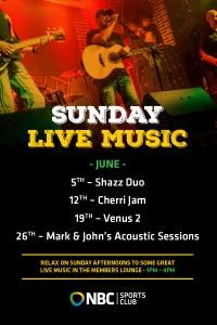 Sunday Live entertainment