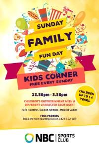 Kids Corner – Sunday Family Fun Day