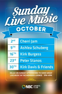 Sunday Live Music October
