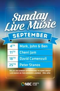 Sunday Live Music September