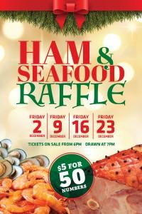 Ham & Seafood Raffles