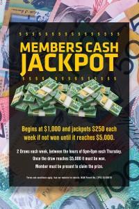 Members Cash Jackpot