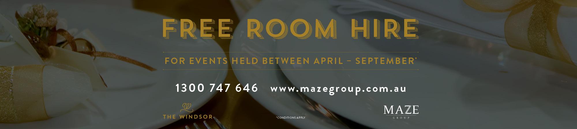 MAZE-Free-Room-Hire-Web-slider