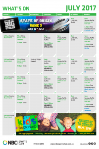 What's On July